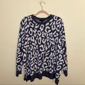 LANE BRYANT giraffe print Crewneck sweater size 22